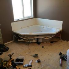 Calgary bathroom rebuild 1