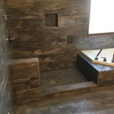 Calgary bathroom rebuild 10